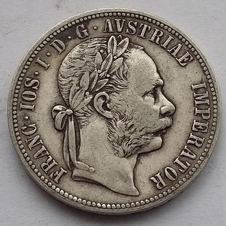 1 флорин 1881 г