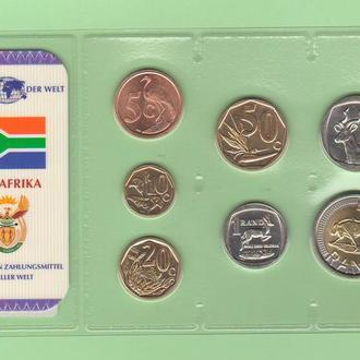 Набор ЮАР из серии - Das Geld Der Welt - пластик блистер запайка набір