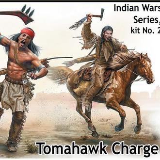Master Box 35192 Индейские войны №2. Атака томагавками, 1/35