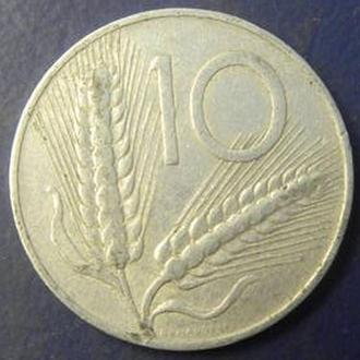 10 лир 1952 Италии