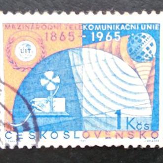 почтовая марка Чехословакия  1965 г