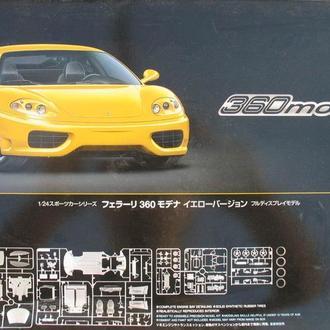 Сборная модель автомобиля Ferrari 360 Modena 1:24 Tamiya