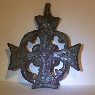 Большой нательный крест, Византия, Русь, 12-13 век.