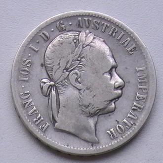 1 Флорин 1877 г А Австрия Серебро 1 Флорін 1877 р А Австрія Срібло 1 Гульден 1877