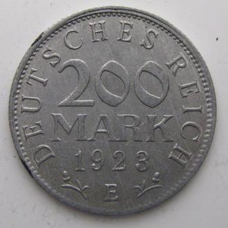 Германия 200 МАРОК 1923 год (E)