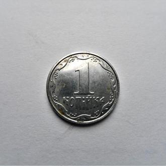 Оригинал.Украина 1 копейка 2007 года.