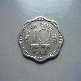Индия 10 пайсов 1966