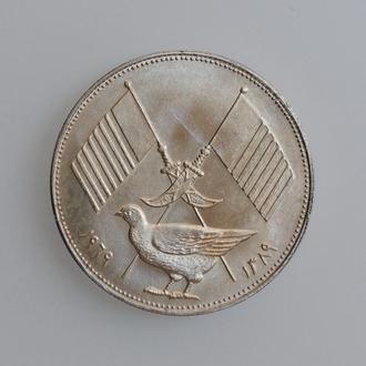 """Аджман (ОАЭ) 5 риалов 1389 (1969) г., BU, """"Эмир Рашид бин Хамад аль-Найми"""""""