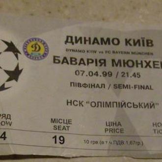 Коллекция из 11 билетов на футбол. Динамо. Лига чемпионов