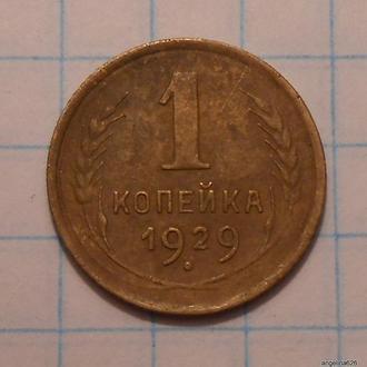 1 копейка 1929 № 863