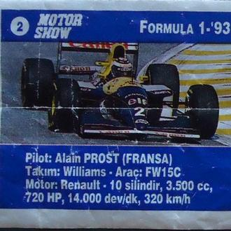 17. Motor Show Formula 1-'93, 2 и 20
