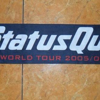 Шарф Status Quo - World Tour 2005-06 Англия.