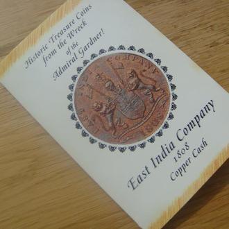 Монета (толкин) Ост-Индийской Компании (Англия), медь, 1808 г.