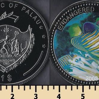 Палау 1 доллар 2008