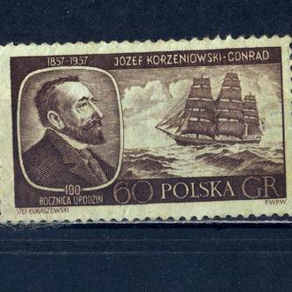 Польша.  Корабль 1957 г.