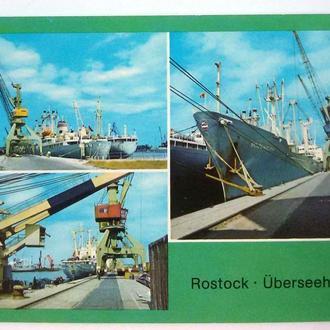 ГДР 1987 Росток международный порт