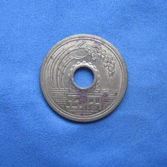 Япония 5 иен 1993 год