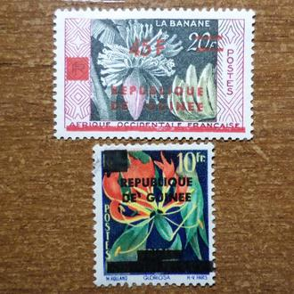 Гвинея фауна КЦ=8,5евро 1959
