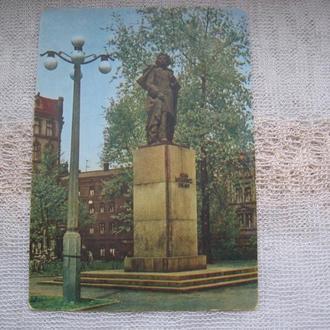 Открытка Памятник Мицкевичу ХОЖУВ  ( Ruch,  Poland)