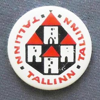 Таллин Прибалтика города значок из серии №5