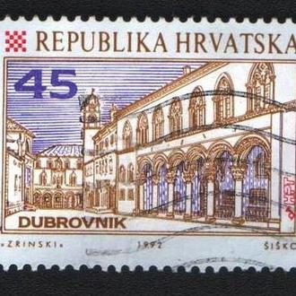 Хорватия (1992) Город Дубровник. Архитектура