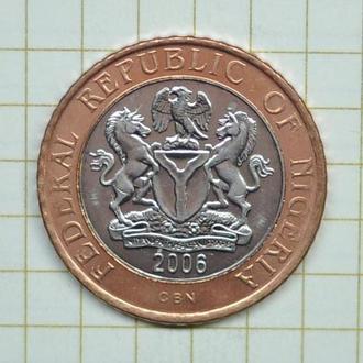 Нигерия - 2 найра 2006 г