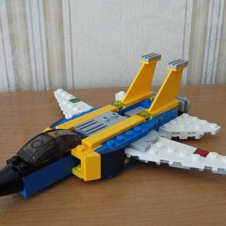 Лего,Lego,конструктор,Креатор,истребитель
