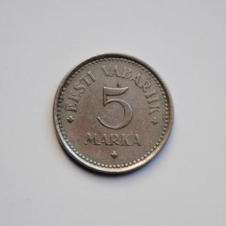 Эстония 5 марок 1922 г., РЕДКАЯ