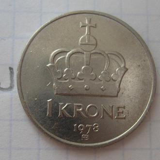 НОРВЕГИЯ, 1 крона 1978 года.