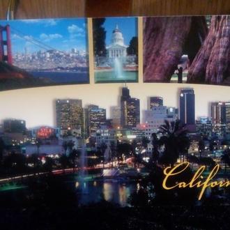 Открытка Калифорния.