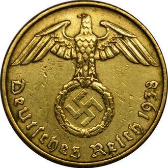 Німеччина 5 Pfennig 1938 A
