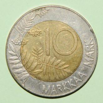 (А) Финляндия 10 марок, 1993
