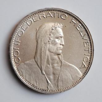 Швейцария 5 франков 1925 г., BU, 'Конфедерация (1917 - 1967)'