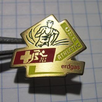 Атлетик-Кубок Эрдгас Cup Athletic Erdgas slv fsa Спорт значок знак