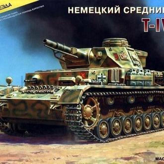 Немецкий танк Т-IV(F1) 1:35 Zvezda (3565)