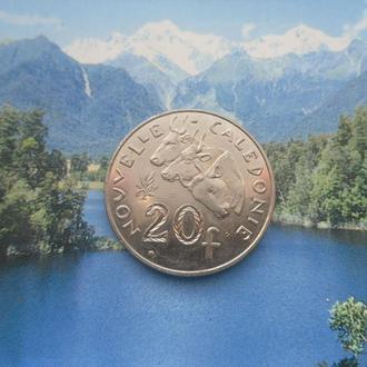 Новая Коледония 20 франков 2015 года