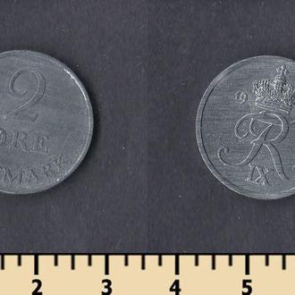 Дания 2 эре 1960-1964