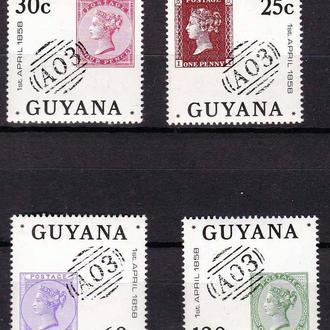 Гаяна 1983 г  MNH -