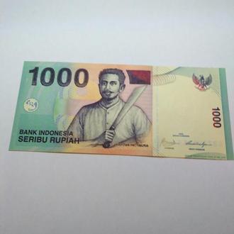 1000 рупий, Индонезия, 209, пресс, unc, оригинал