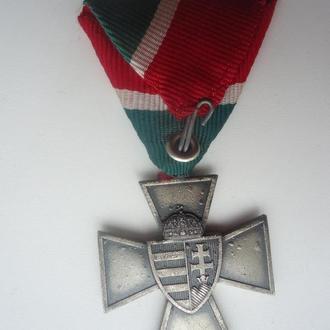 Венгрия Хорти Крест Национальной Обороны 1940 ВМВ
