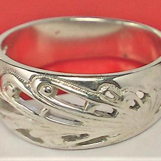 Кольцо перстень серебро 925 проба 3.33 гр 17 размер