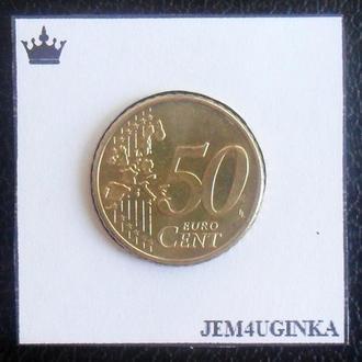 Германия. 50 евроцентов 2002 г. (А). XF