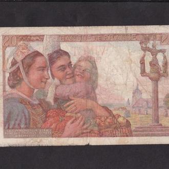20 франков 1942г. Франция.