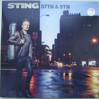 STING 57th & 9th LP EX+/NM