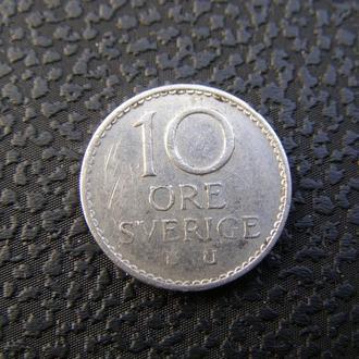 10 эре Швеция 1969