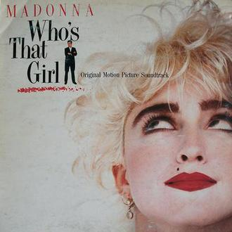 LP Madonna ‎  Who's That Girl Nm- Югославия
