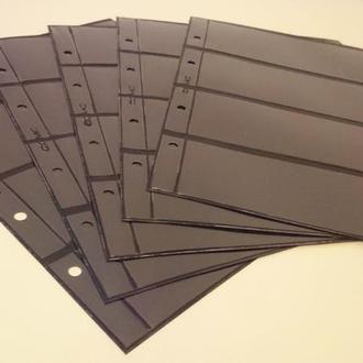 Лист двухсторонний Optima Оптима для бон на 2х4 карманов лист под боны