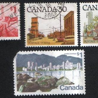 Канада. Виды городов