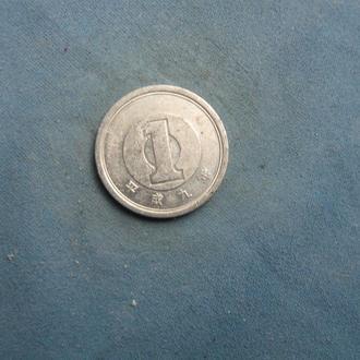 Япония 1 иена 1997 год