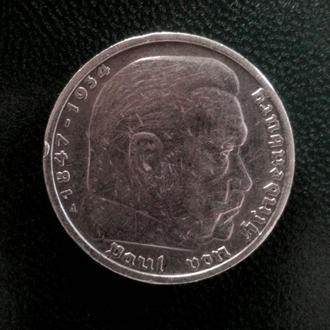 5 Рейхсмарок 1935г